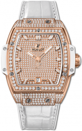 Hublot Spirit of Big Bang King Gold White Full Pave 39 mm 665.OE.9010.LR.1604