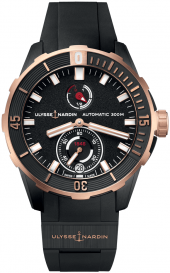 Ulysse Nardin Marine Diver Chronometer 44 mm 1185-170-3/BLACK