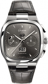 Glashutte Original 20th Century Vintage Seventies Chronograph Panorama Date 1-37-02-01-02-30