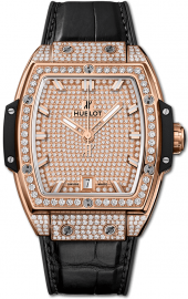 Hublot Spirit of Big Bang King Gold Full Pave 39 mm 665.OX.9010.LR.1604