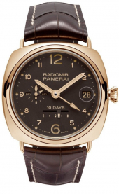 Panerai Radiomir 10 Days GMT Automatic Oro Rosso 45 mm PAM00497