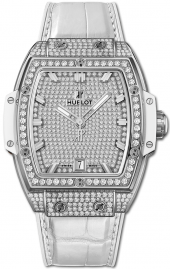 Hublot Spirit of Big Bang Titanium White Full Pave 39 mm 665.NE.9010.LR.1604