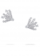 Серьги Graff Solar Diamond Mini Stud Earrings RGE 1527