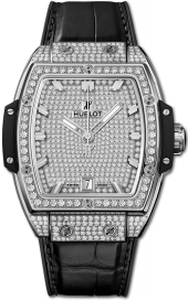 Hublot Spirit of Big Bang Titanium Full Pave 39 mm 665.NX.9010.LR.1604