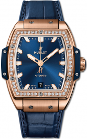 Hublot Spirit of Big Bang King Gold Blue Diamonds 39 mm 665.OX.7180.LR.1204