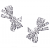 Серьги Graff Bow Diamond Stud Earrings RGE 1149